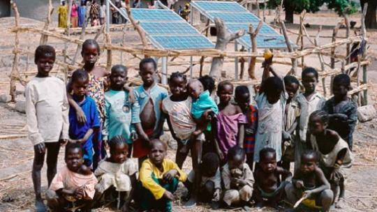 Access to energy in poor countries